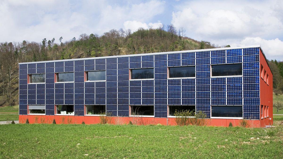 Bürogebäude Wattwerk in Bubendorf bei Basel, Schweiz