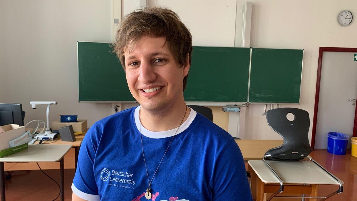 Maximilian Gebhard, Realschullehrer für Mathe und Religion in Weilheim