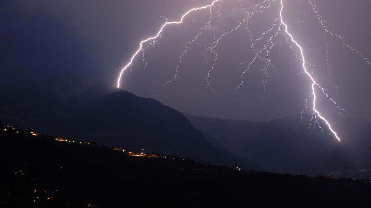 Unwetter über Südtirol (Symbolbild)