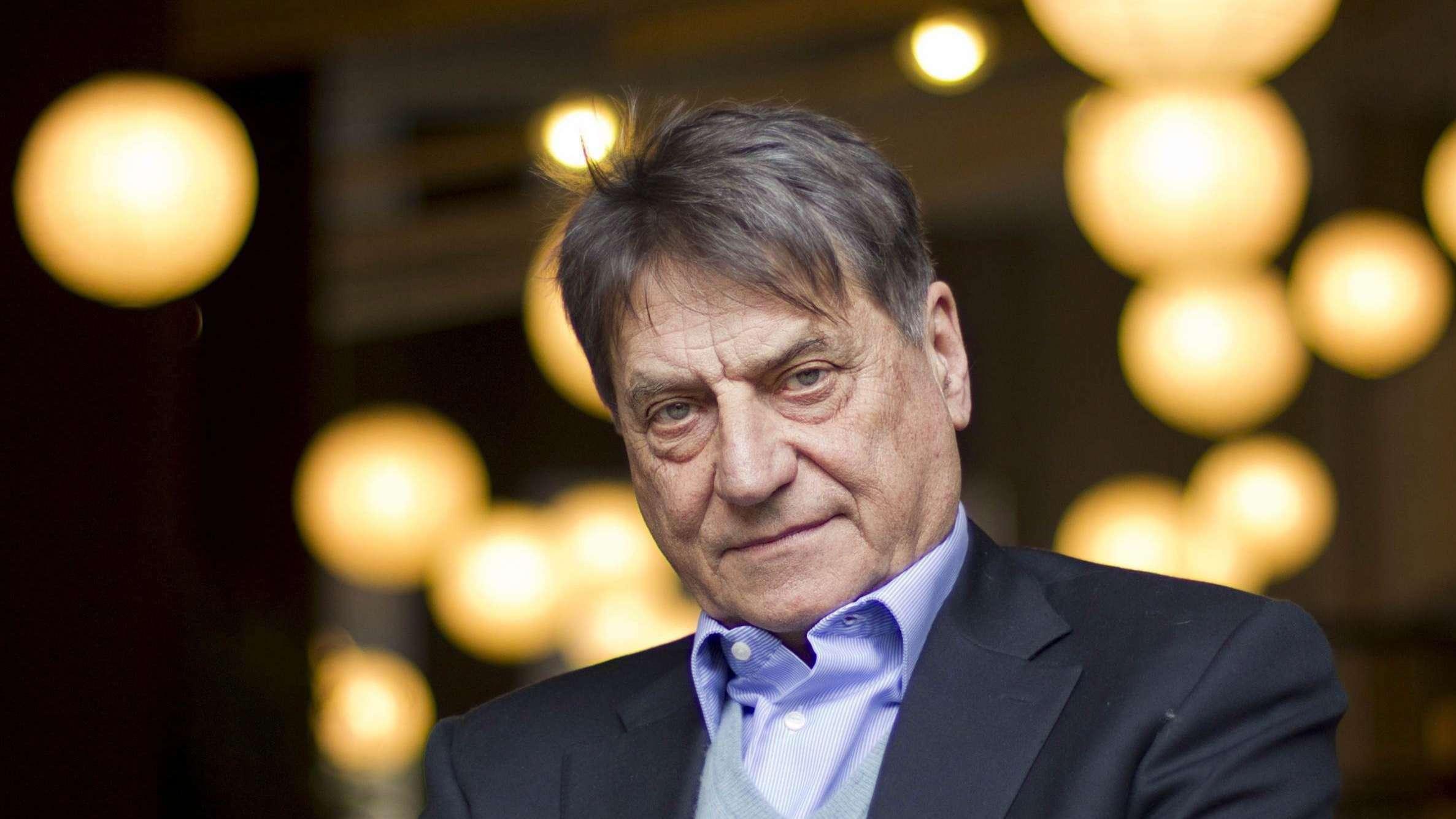 Der italienische Schriftsteller Claudio Magris