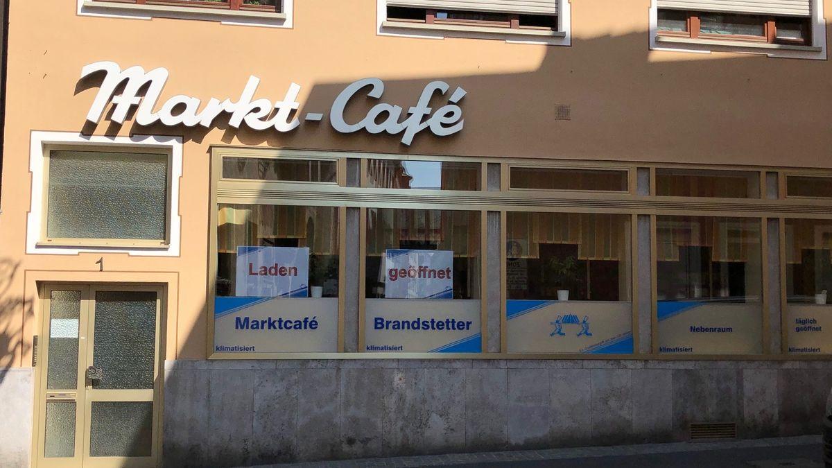 Filiale der Bäckerei Brandstetter in Würzburg