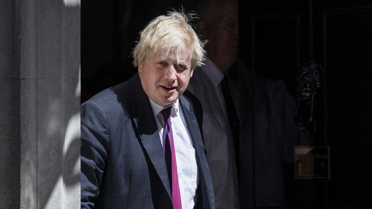 Der ehemalige britische Außenminister Boris Johnson