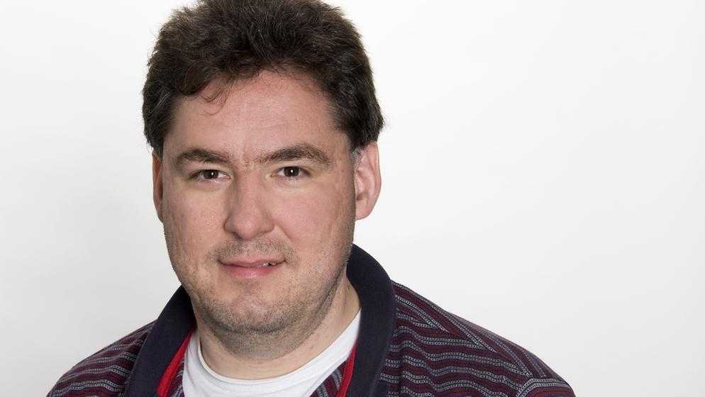 BR-Moderator Holger Kiesel ist als neuer bayerischer Behindertenbeauftragter vorgesehen   Bild:BR/Theresa Högner