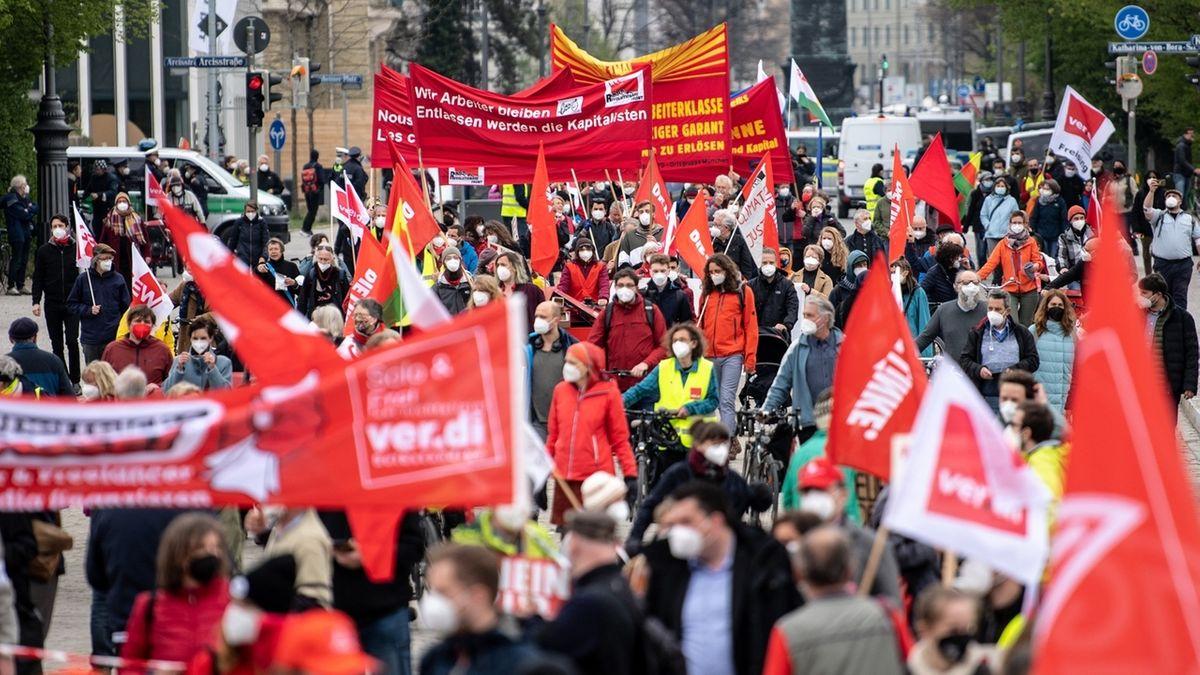 1. Mai - Demonstrationen - München