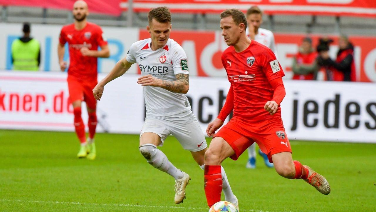 Spielszene FC Ingolstadt - 1. FC Kaiserslautern