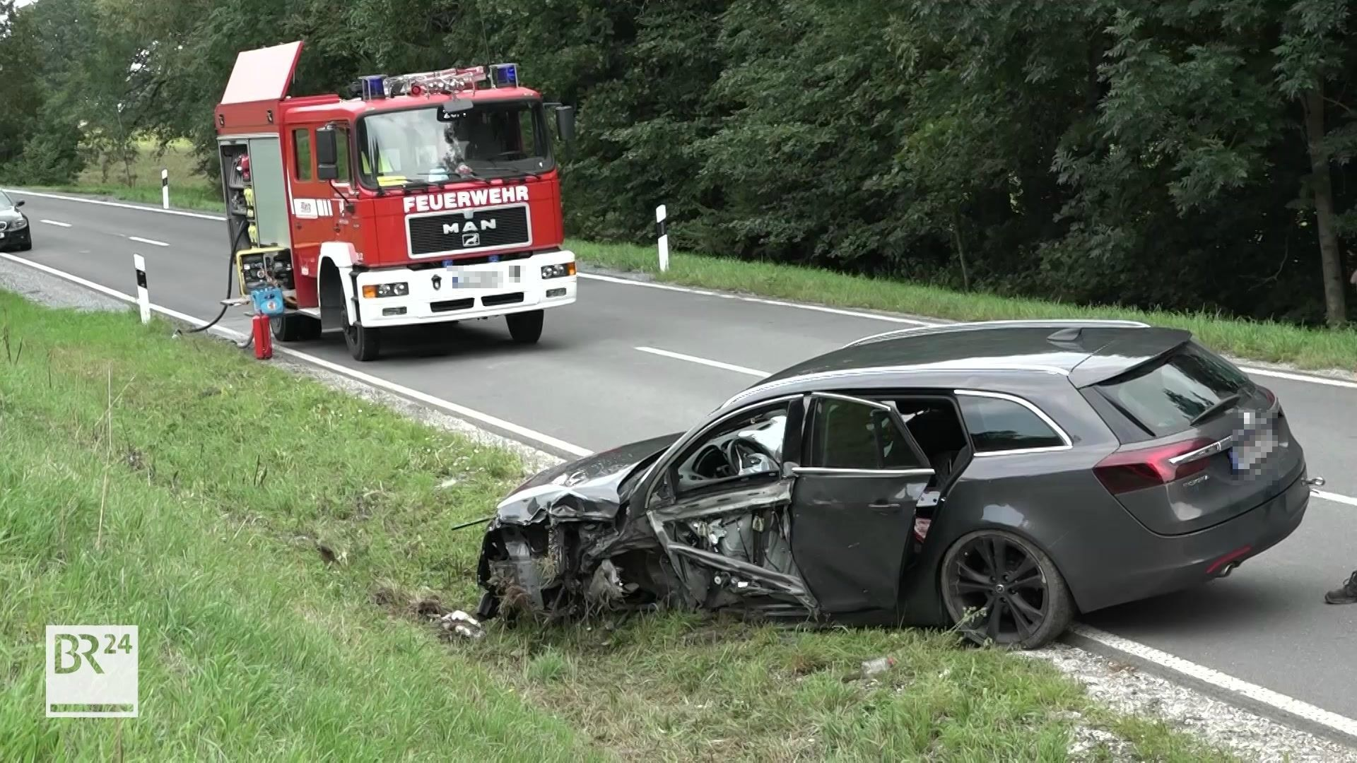 Unfall nahe Mistelgau