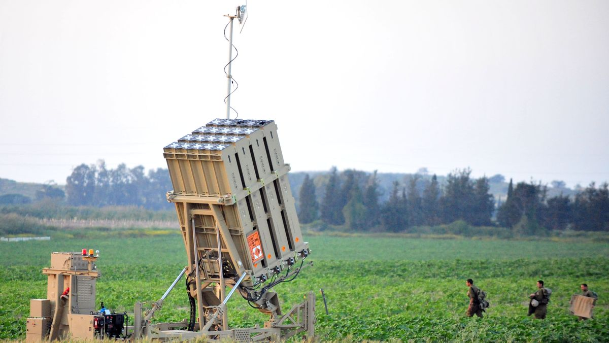 Archiv: Iron-Dome-Abwehrsystem
