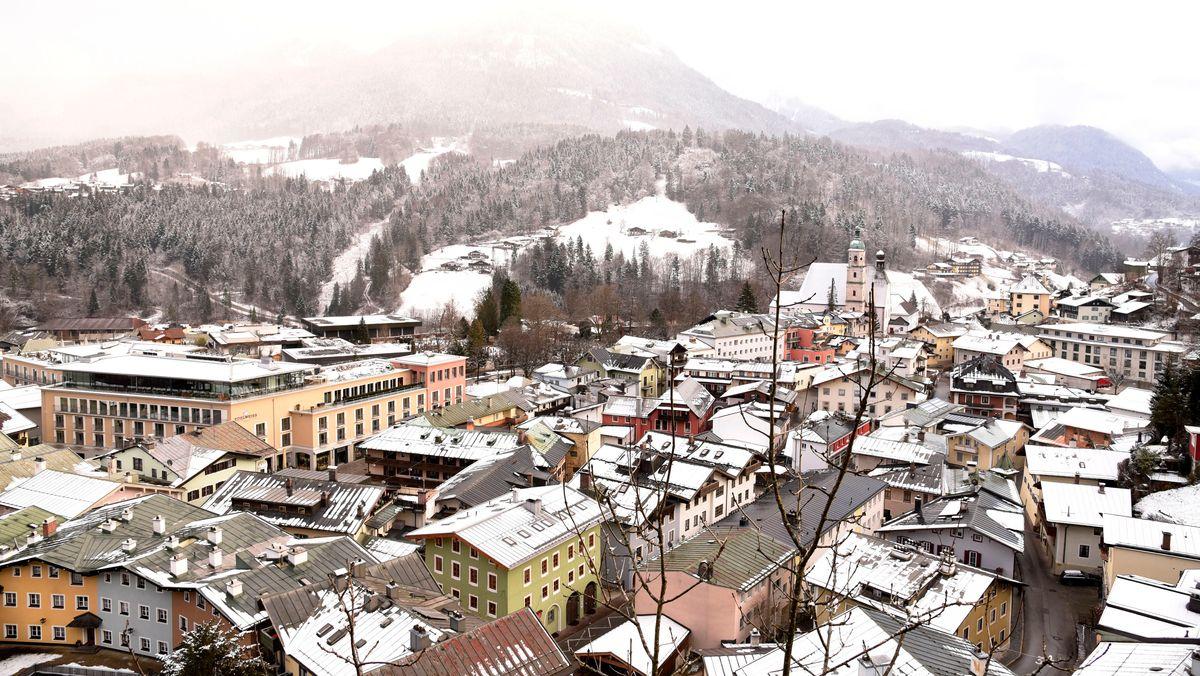 Blick Blick auf Berchtesgaden