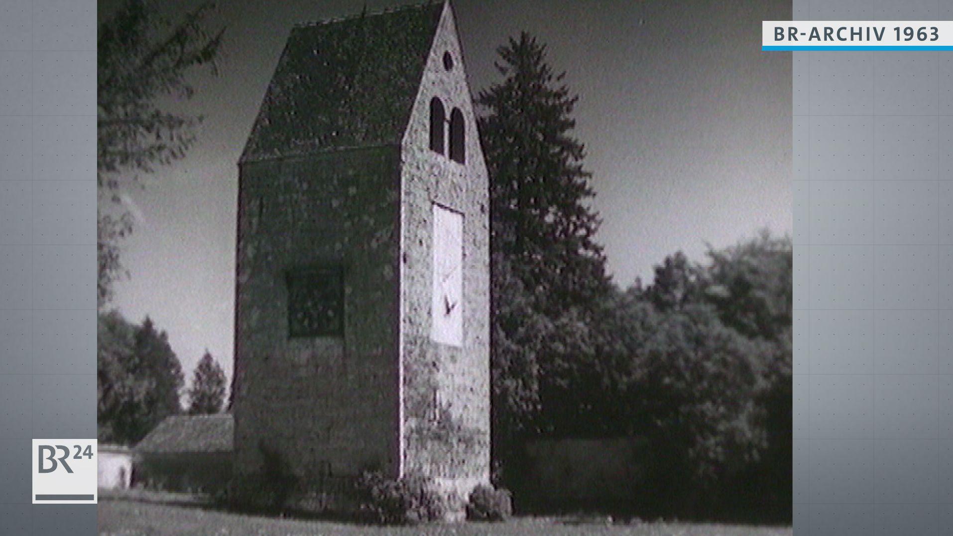 """Kloster Wessobrunn, Turm """"der graue Herzog"""""""