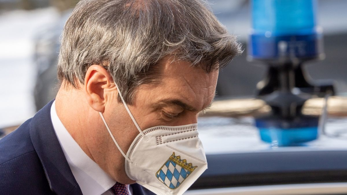 Pressekonferenz nach bayerischer Kabinettssitzung