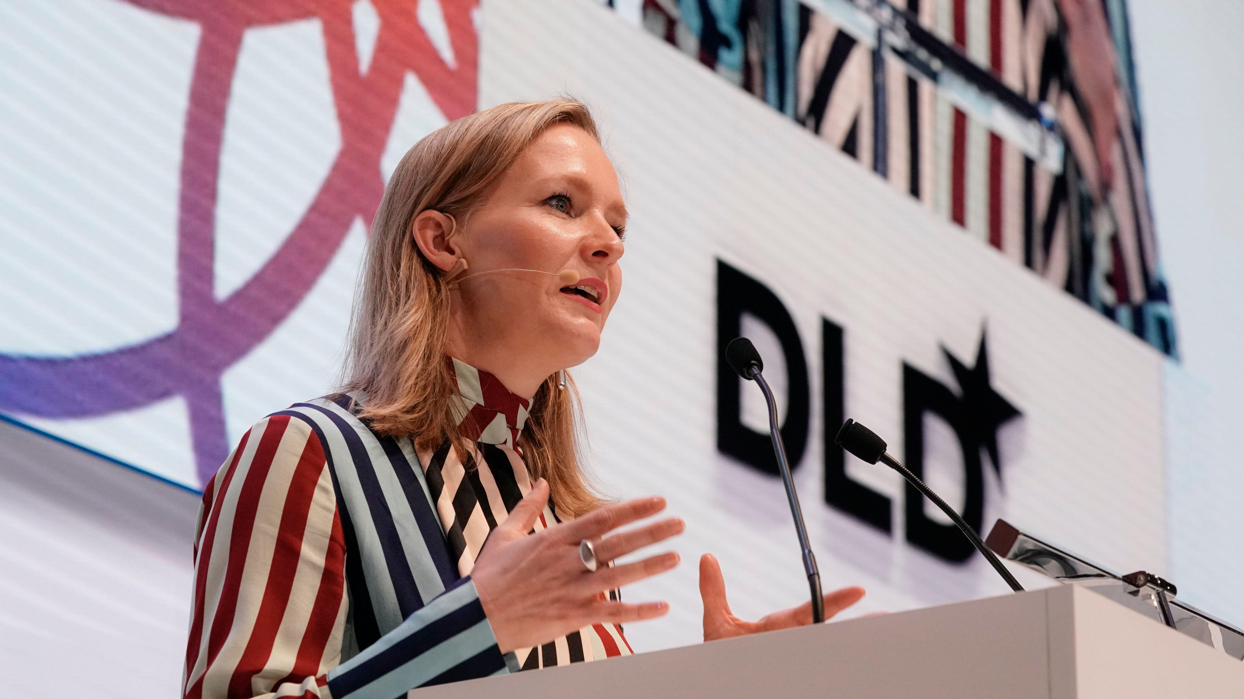 Marietje Schaake auf der DLD 2020