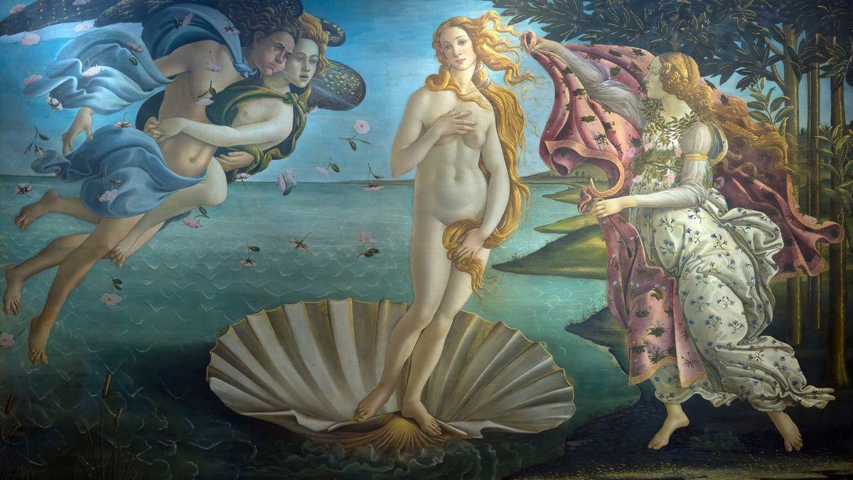 Viel Nacktheit aus der Renaissance.