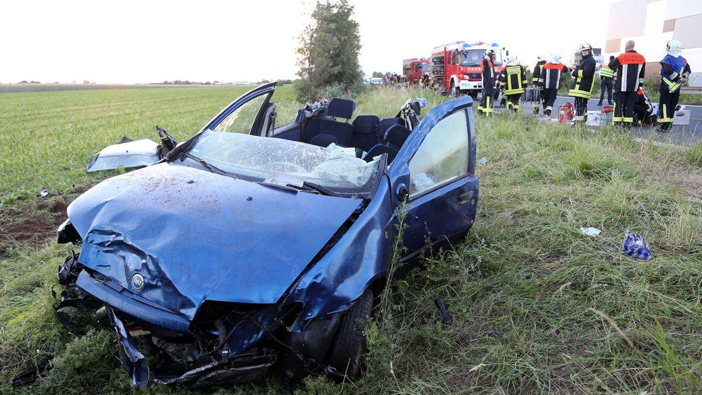 Verkehrsunfall bei Niedernberg