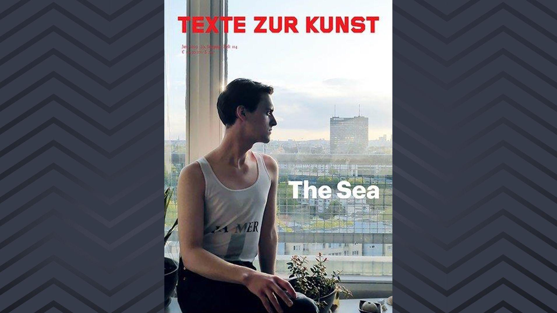 Buchcover Texte zur Kunst, The Sea, mit einem Beitrag von Katja Abt