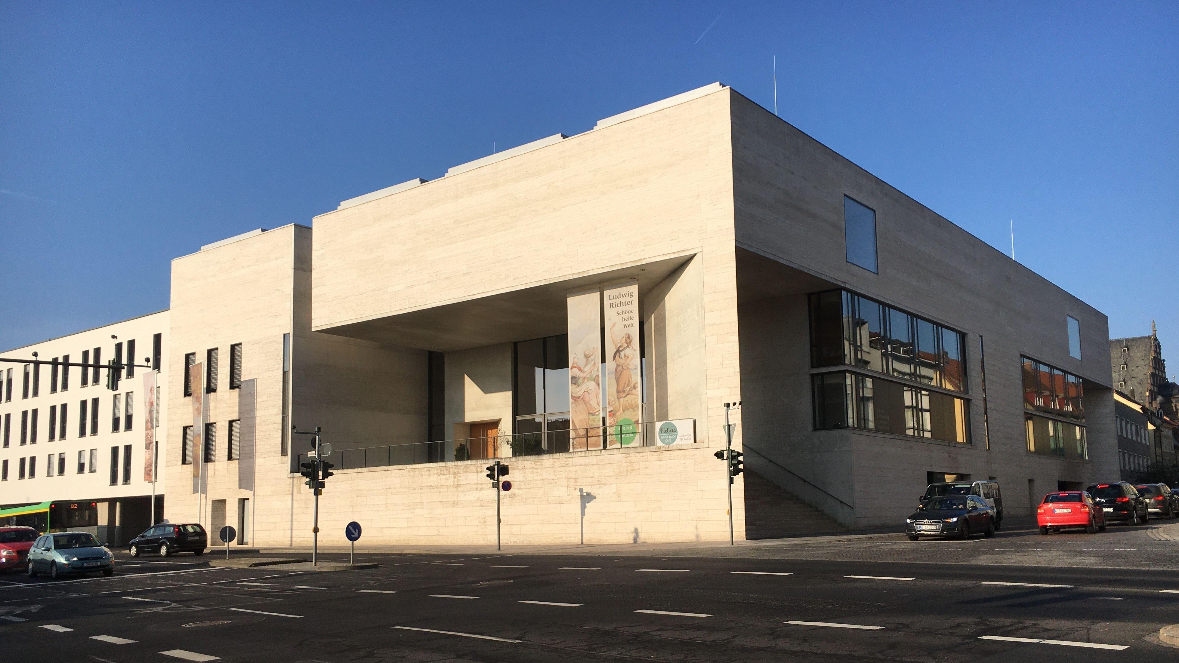Außenansicht des Georg-Schäfer Museums in Schweinfurt