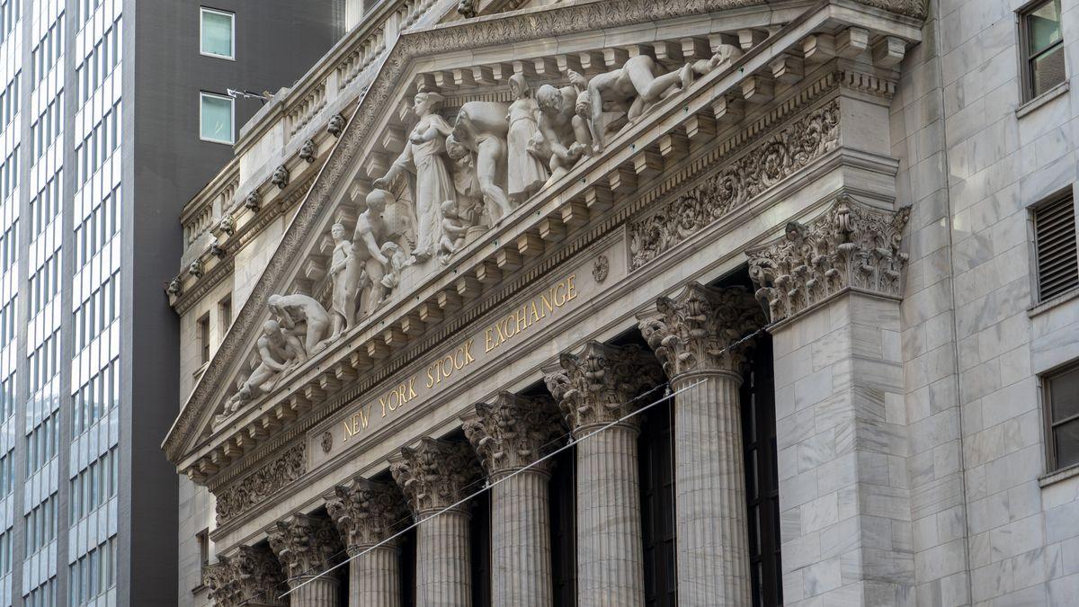 Die Börse in New York von außen