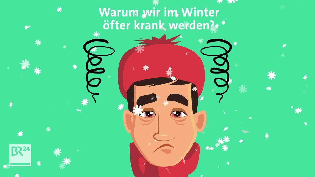 #fragBR24💡 Warum wir im Winter öfter krank werden?