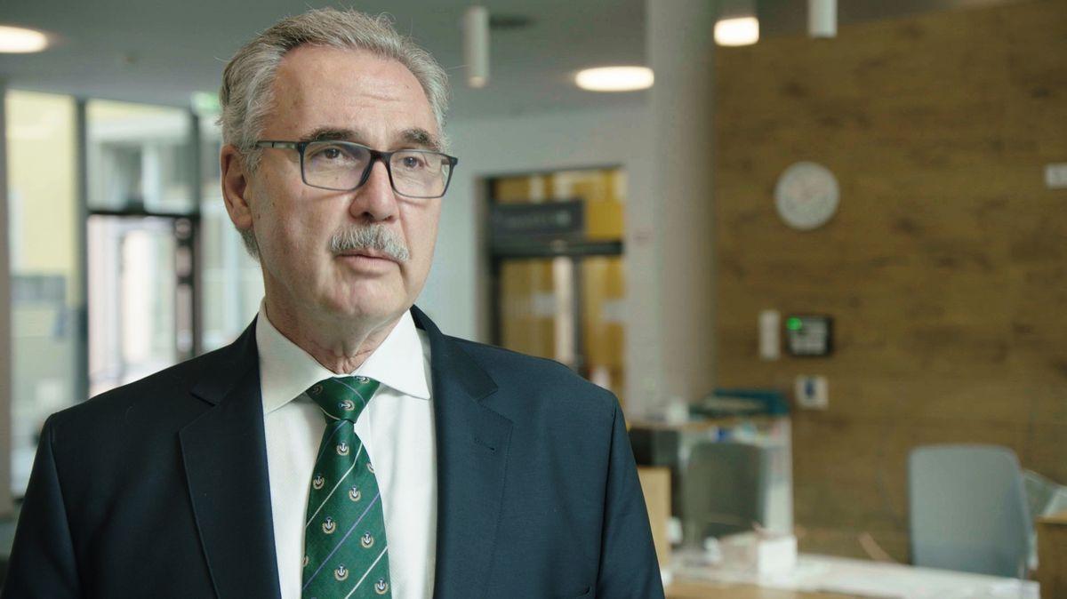 Ärtzlicher Direktor Prof. Markus Lerch.