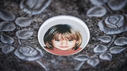 Mordfall Peggy - Grabstein   Bild:dpa-Bildfunk/David-Wolfgang Ebener
