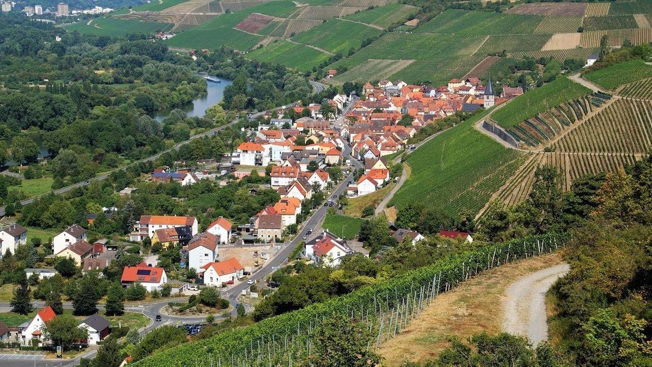 Weinort Randersacker bei Würzburg