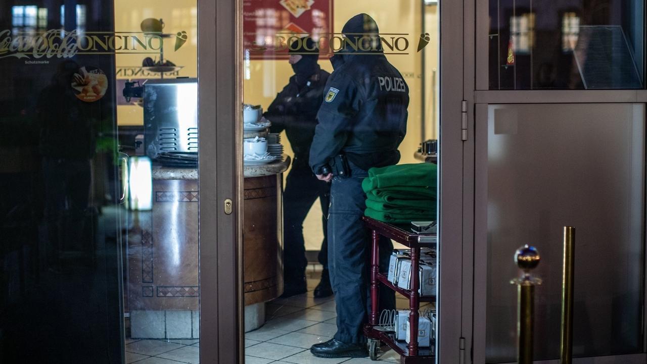 Razzia gegen italienische Mafia