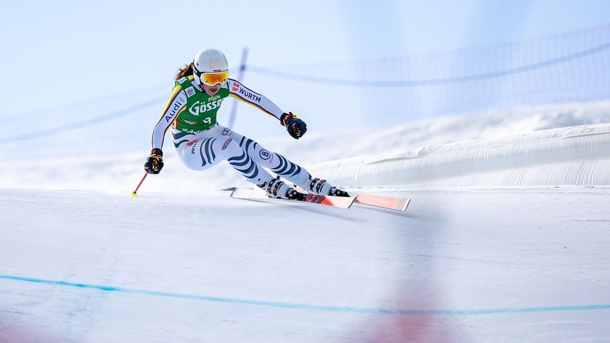 Kira Weidle in St. Anton
