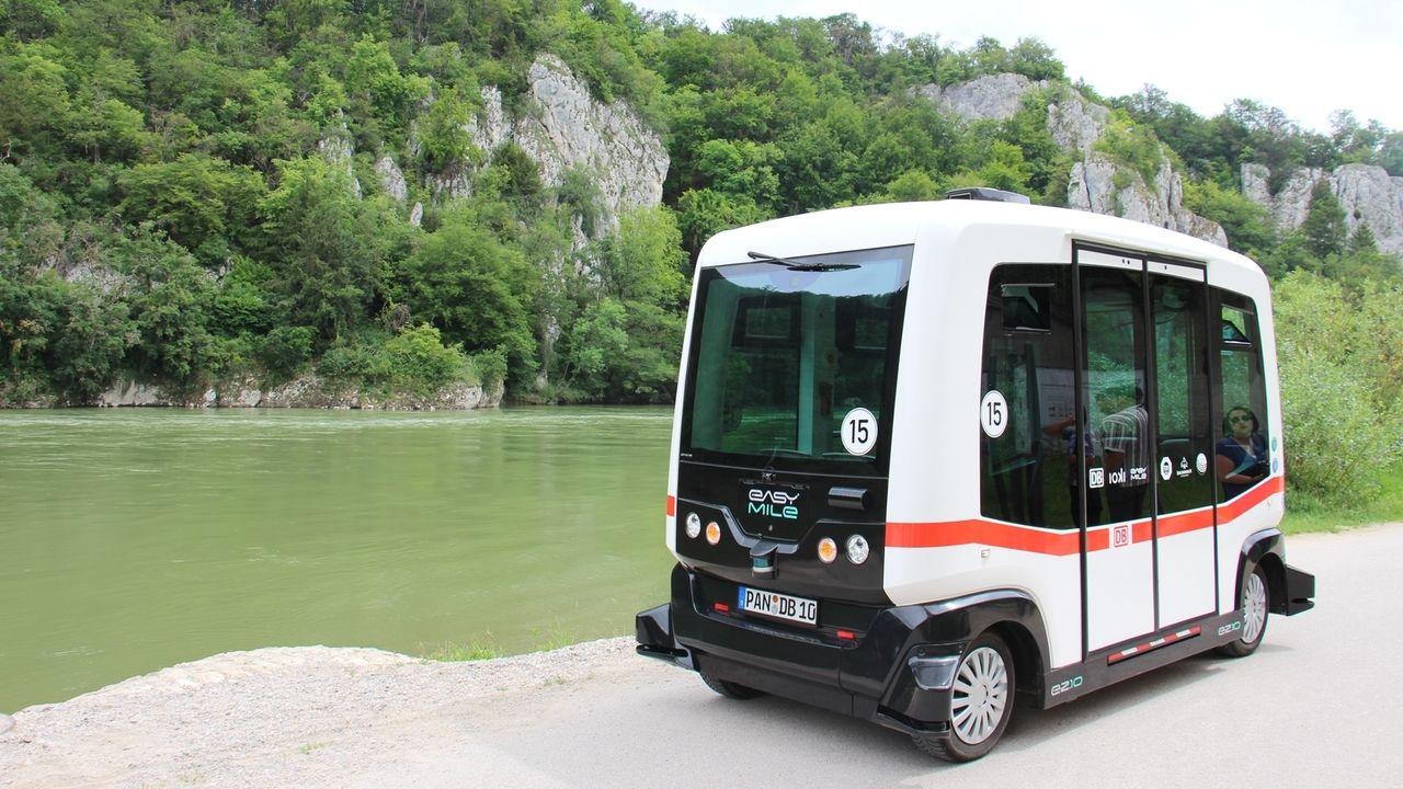 Ab 2020 sollen Besucher mit einem autonom fahrenden Bus zum Kloster Weltenburg gebracht werden.