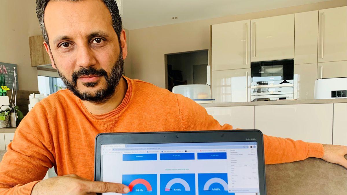 Khosrau Heidary aus dem Landkreis Passau hat ein Corona-Programm entwickelt