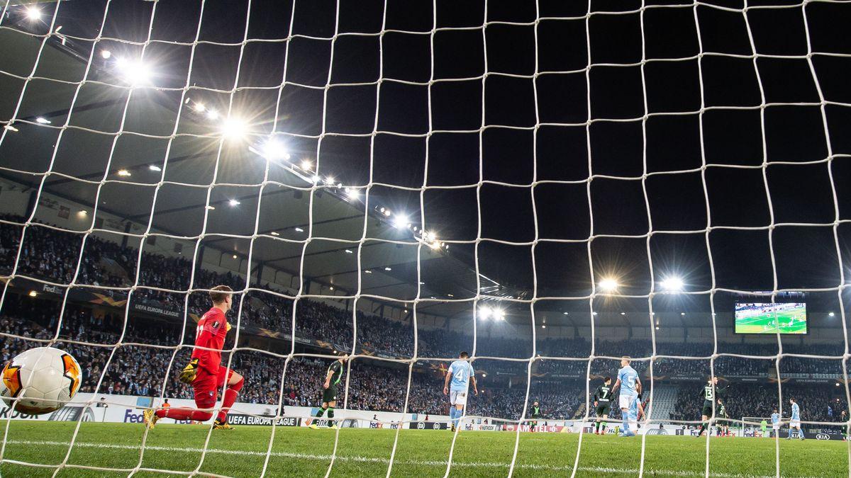 Fußball im Stadion von Malmö FF