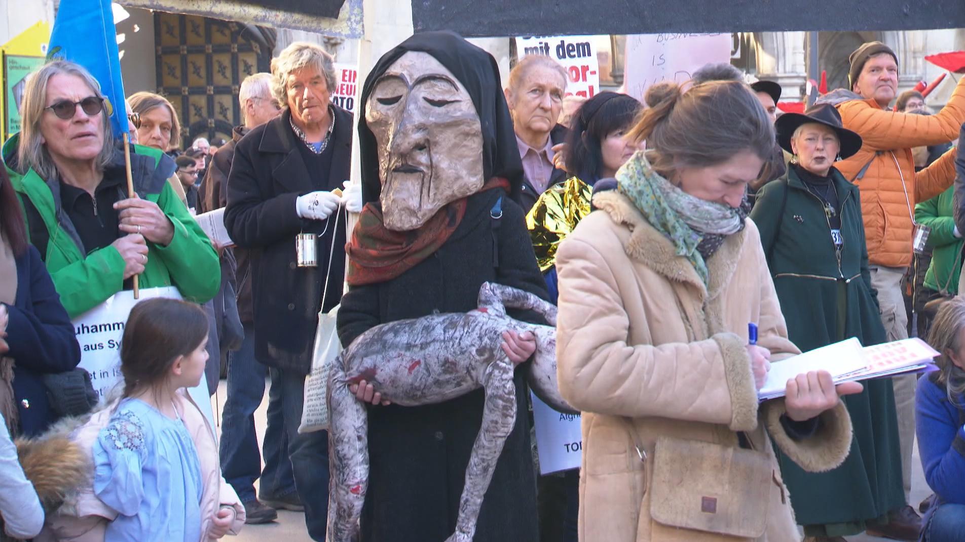 Demonstrationen gegen die Münchner Sicherheitskonferenz