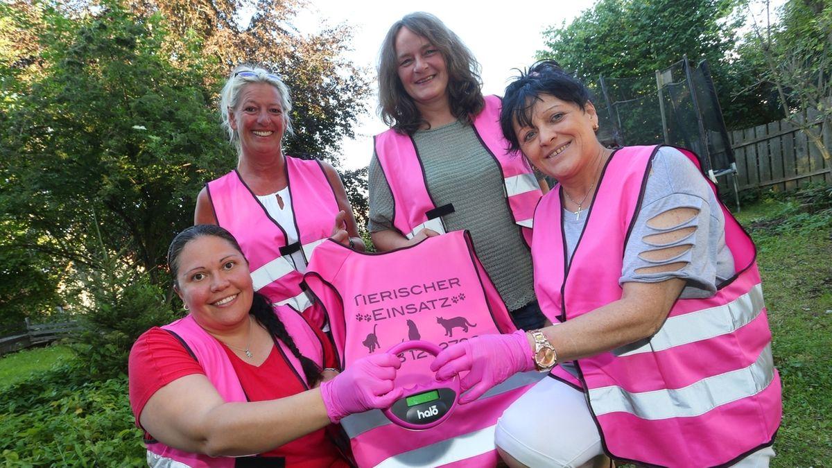 Pink Ladies im Allgäu: Im Einsatz für vermisste Haustiere