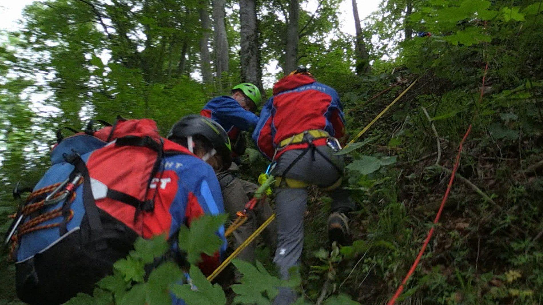 Bergwacht-Einsatz in Bayern
