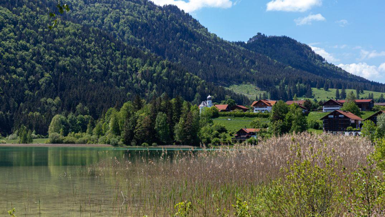 Ufer des Weißensees bei Füssen