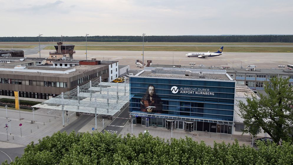 Airport Nürnberg   Bild:picture-alliance/dpa