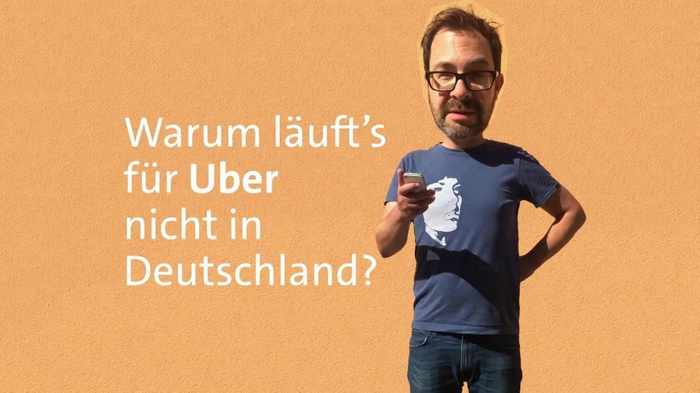 Die Taxifahrer in Nürnberg laufen Sturm gegen eine Aufweichung des Personenbeförderungsgesetzes - und damit gegen den Fahrdienstvermittler Uber. Warum läuft's für Uber nicht in Deutschland? #fragBR24 ?? | Bild:BR24