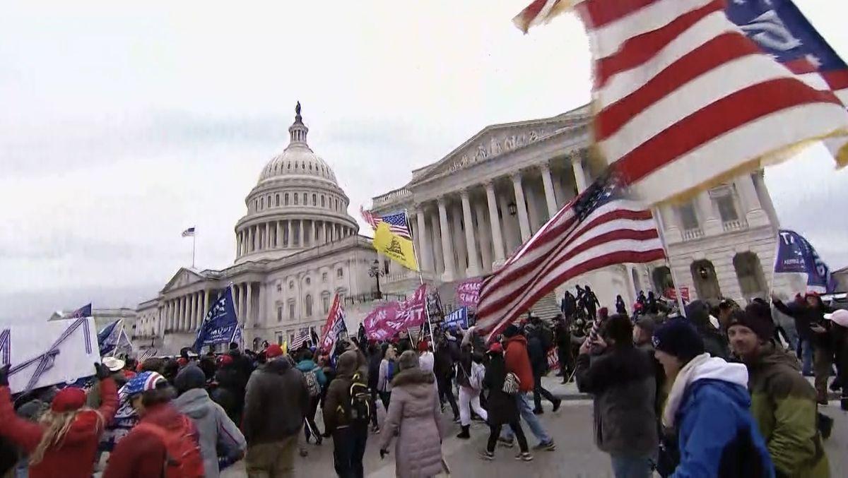 Unruhen am US-Kapitol