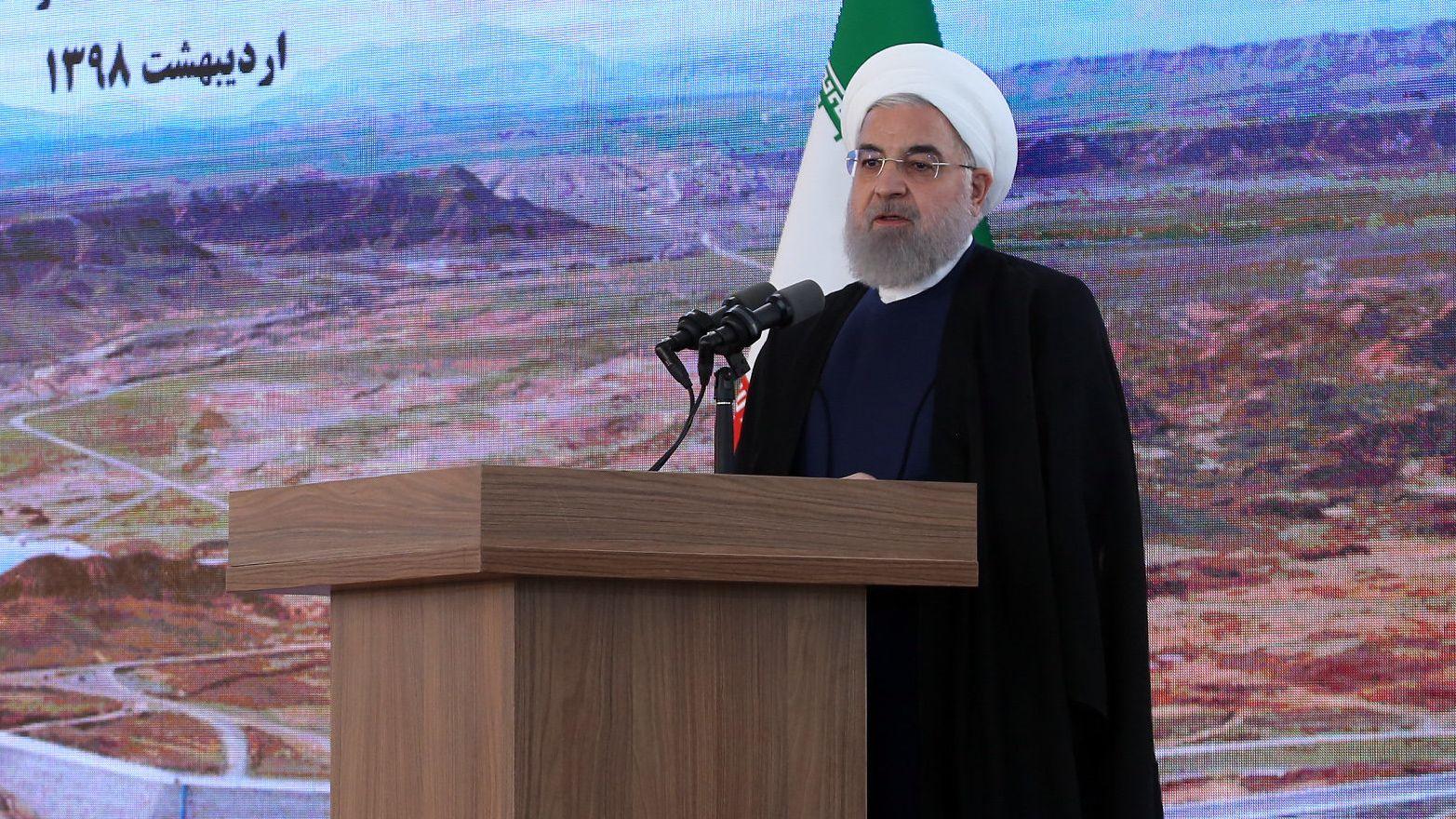 Irans Präsident Hassan Rouhani: Treffen mit Maas