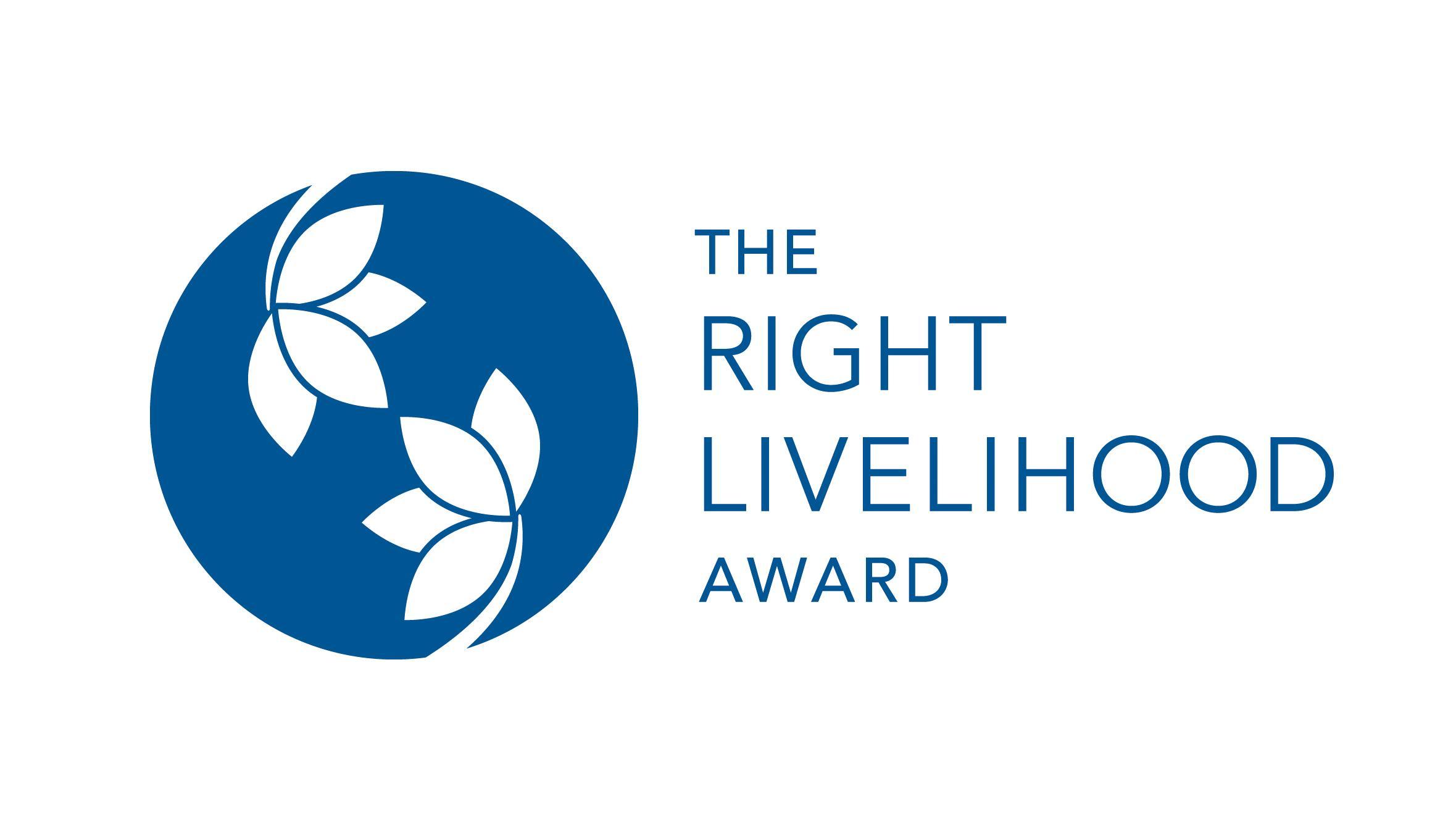 Logo des Right Livelihood Award / Alternativen Nobelpreises