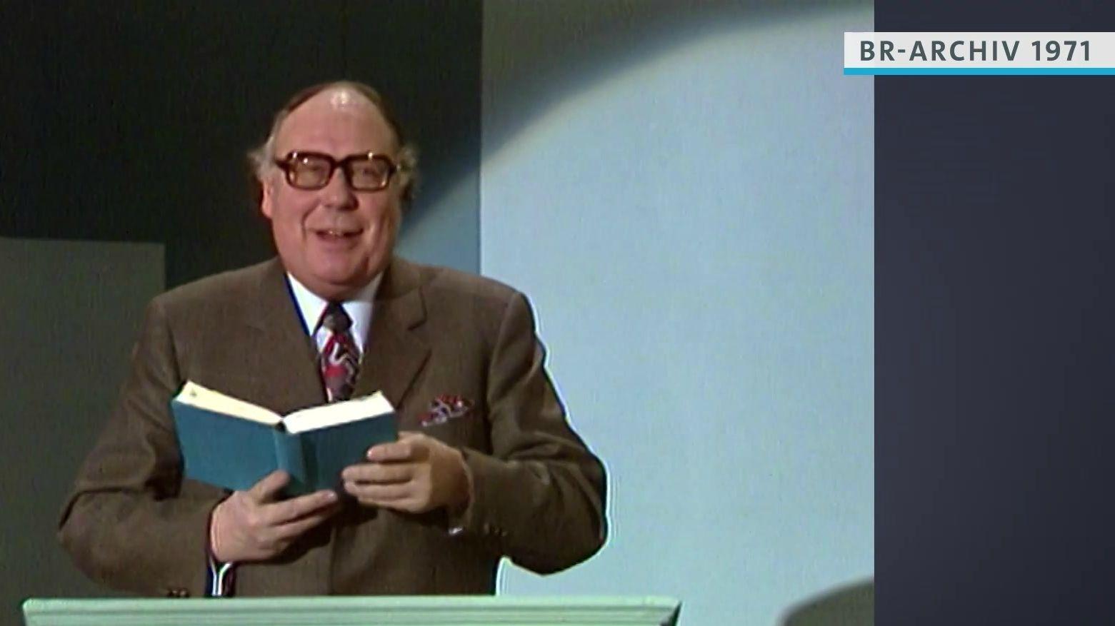 Heinz Erhardt bei Lesung