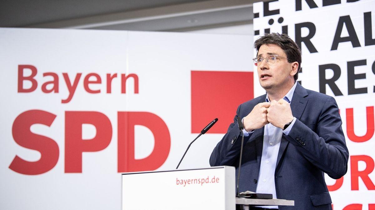 Florian von Brunn auf dem digitalen Landesparteitag der Bayern-SPD