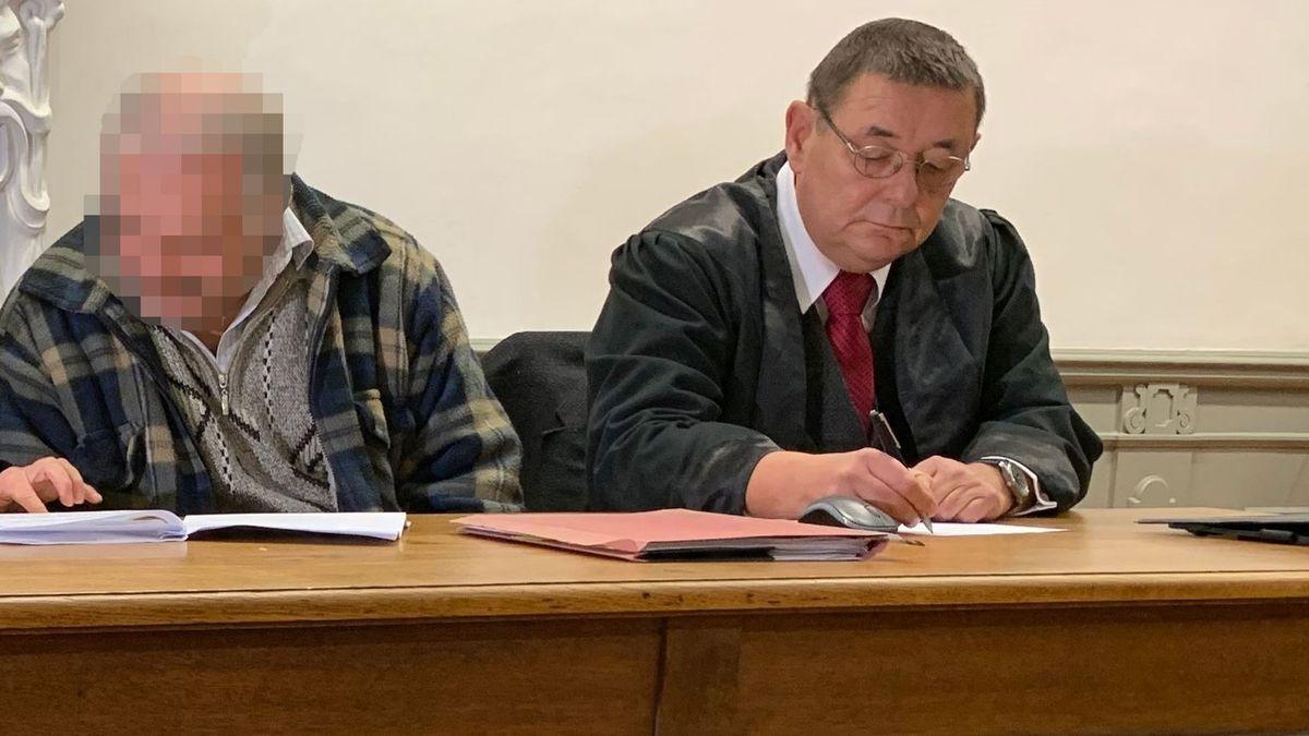 Der Lkw-Fahrer mit seinem Anwalt