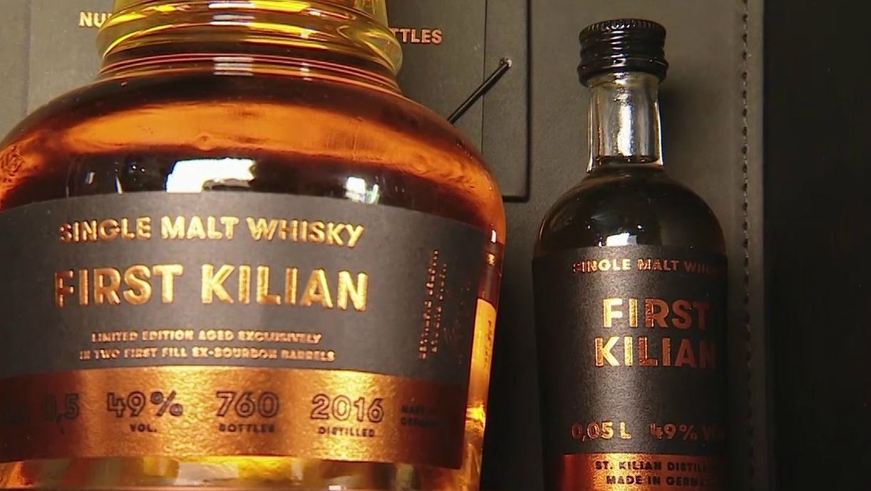 "Der ""First Kilian""-Whiskey aus Rüdenau"