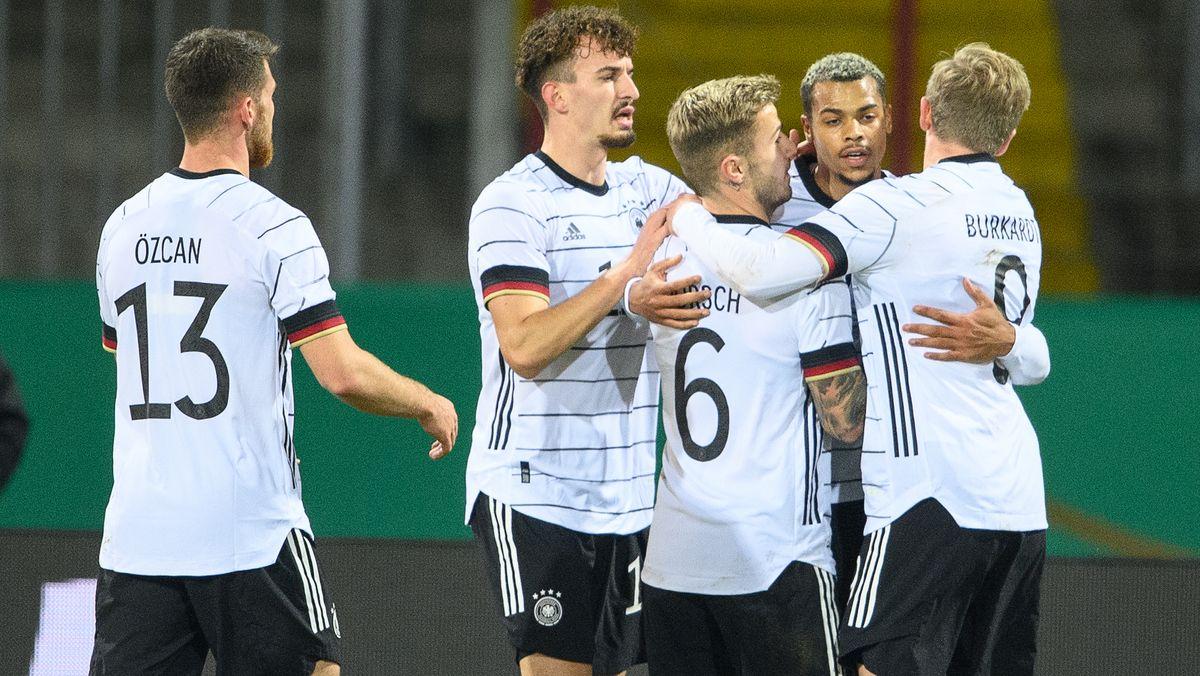 Jubel bei der deutschen U21-Mannschaft