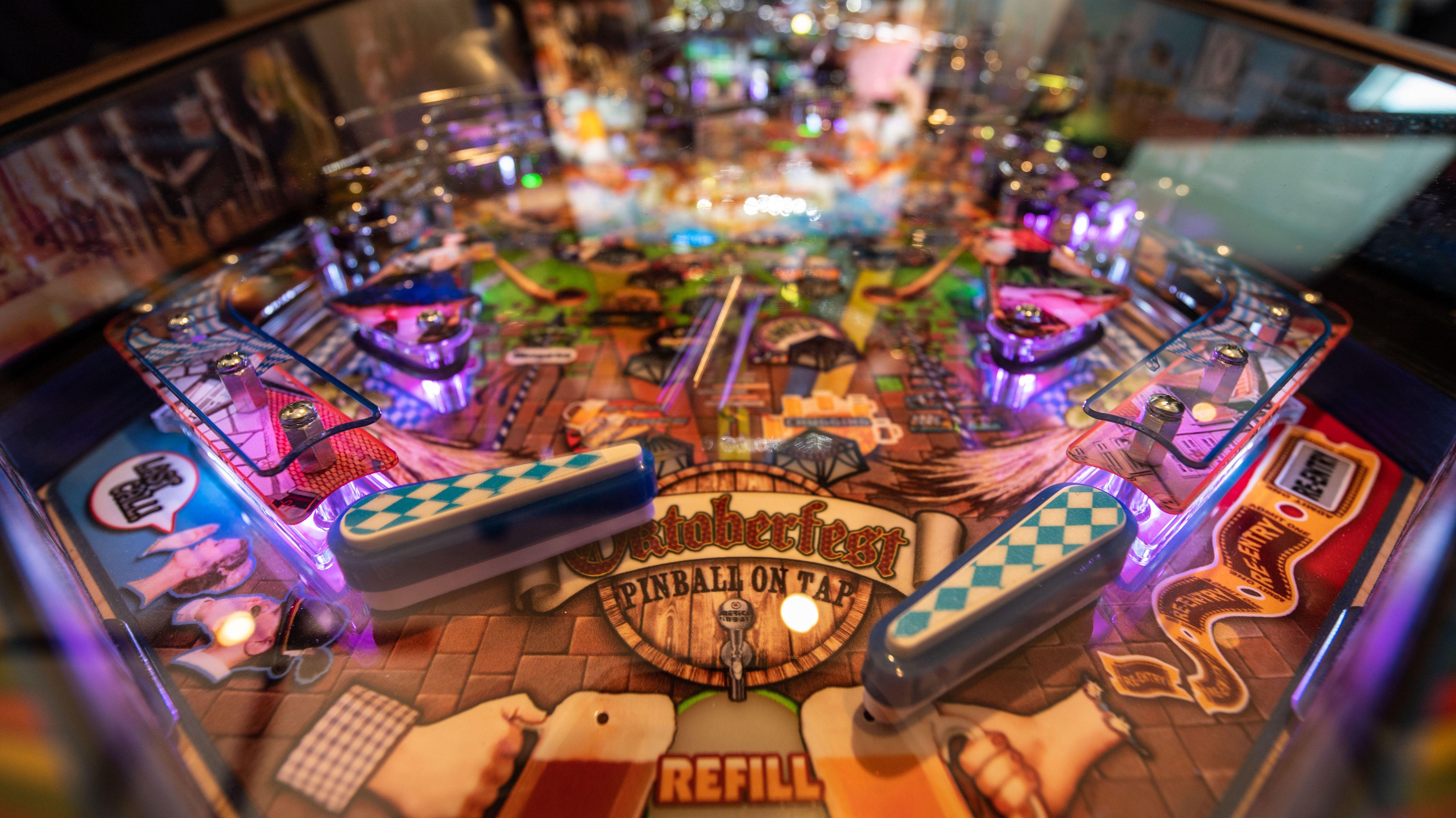 Oktoberfest-Flipperautomat