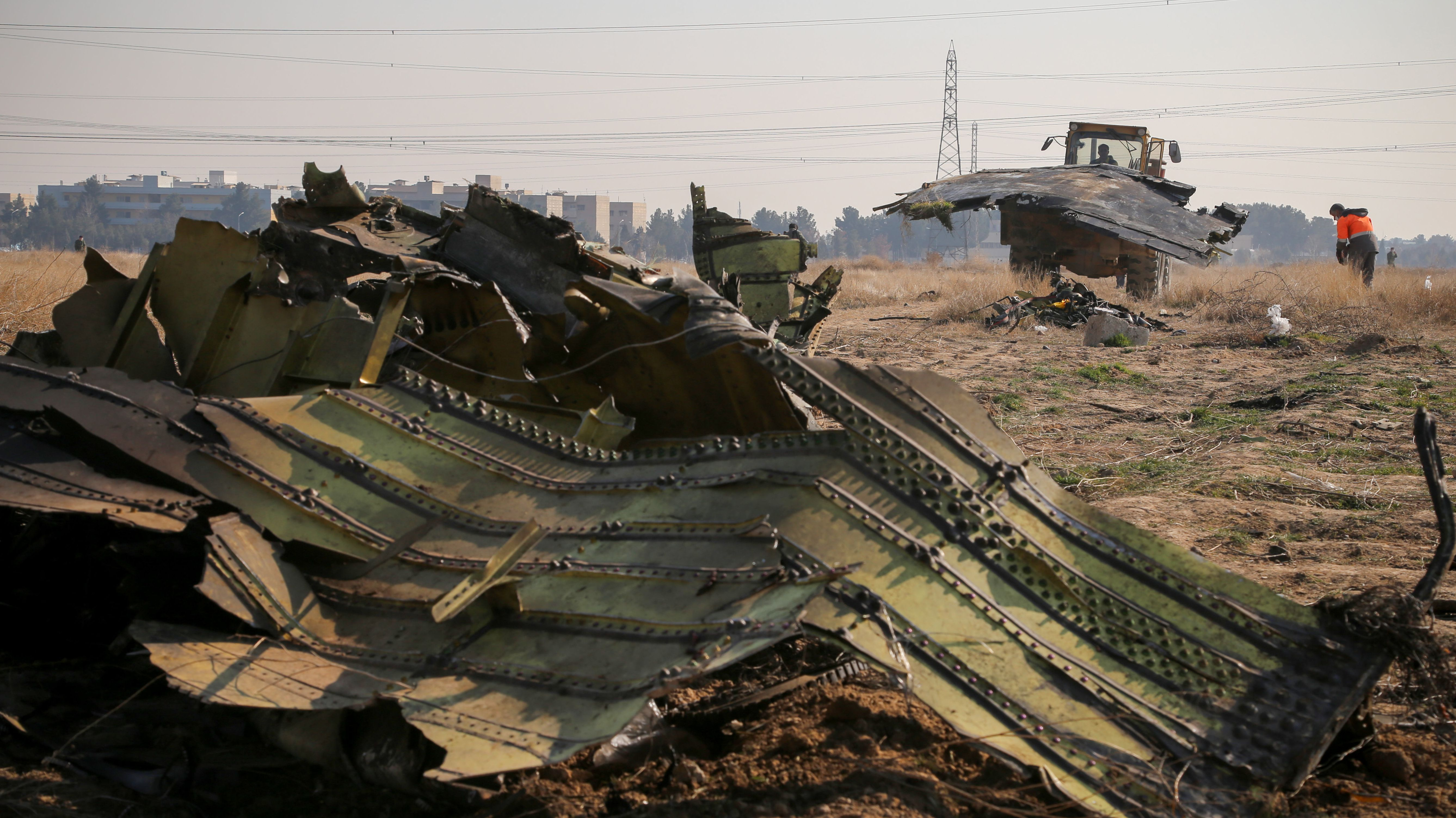 Iran gibt Abschuss des ukrainischen Flugzeugs zu