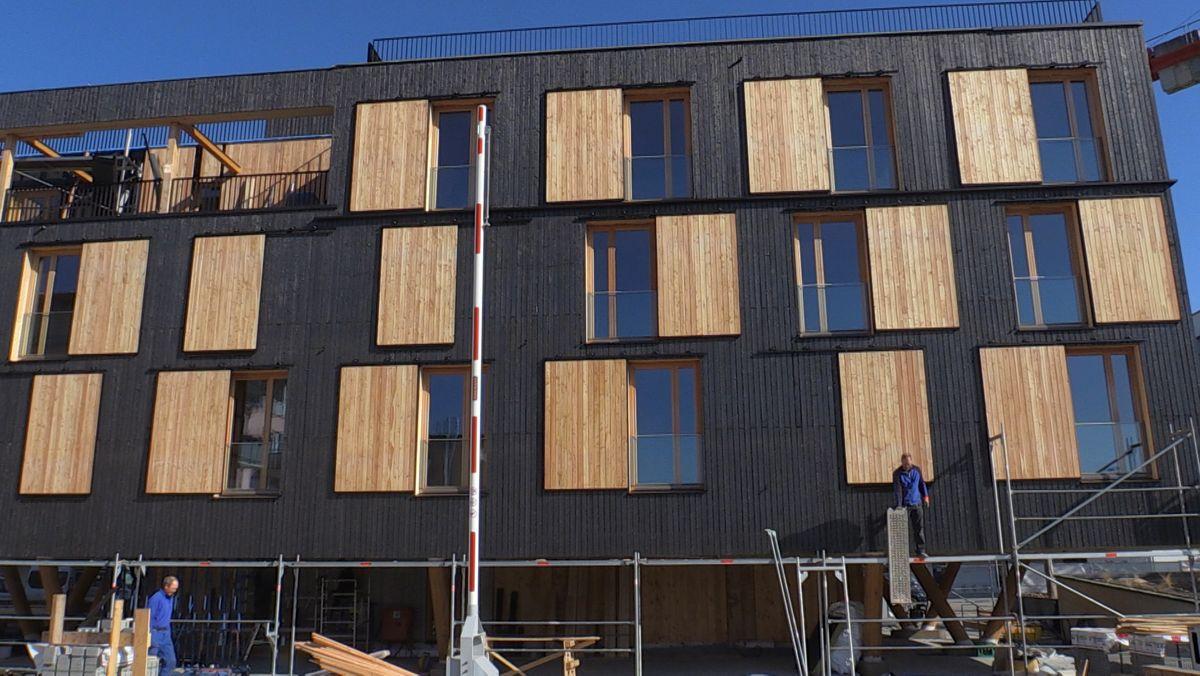 Der 6 Millionen teure Wohnkomplex mit 33 neuen Wohnungen und einer Wohnfläche von über 900 Quadratmetern liegt im Regensburger Osten.