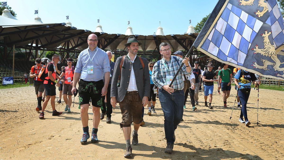 Prinz Ludwig und seine Mitstreiter brechen 2019 zum Löwenmarsch auf