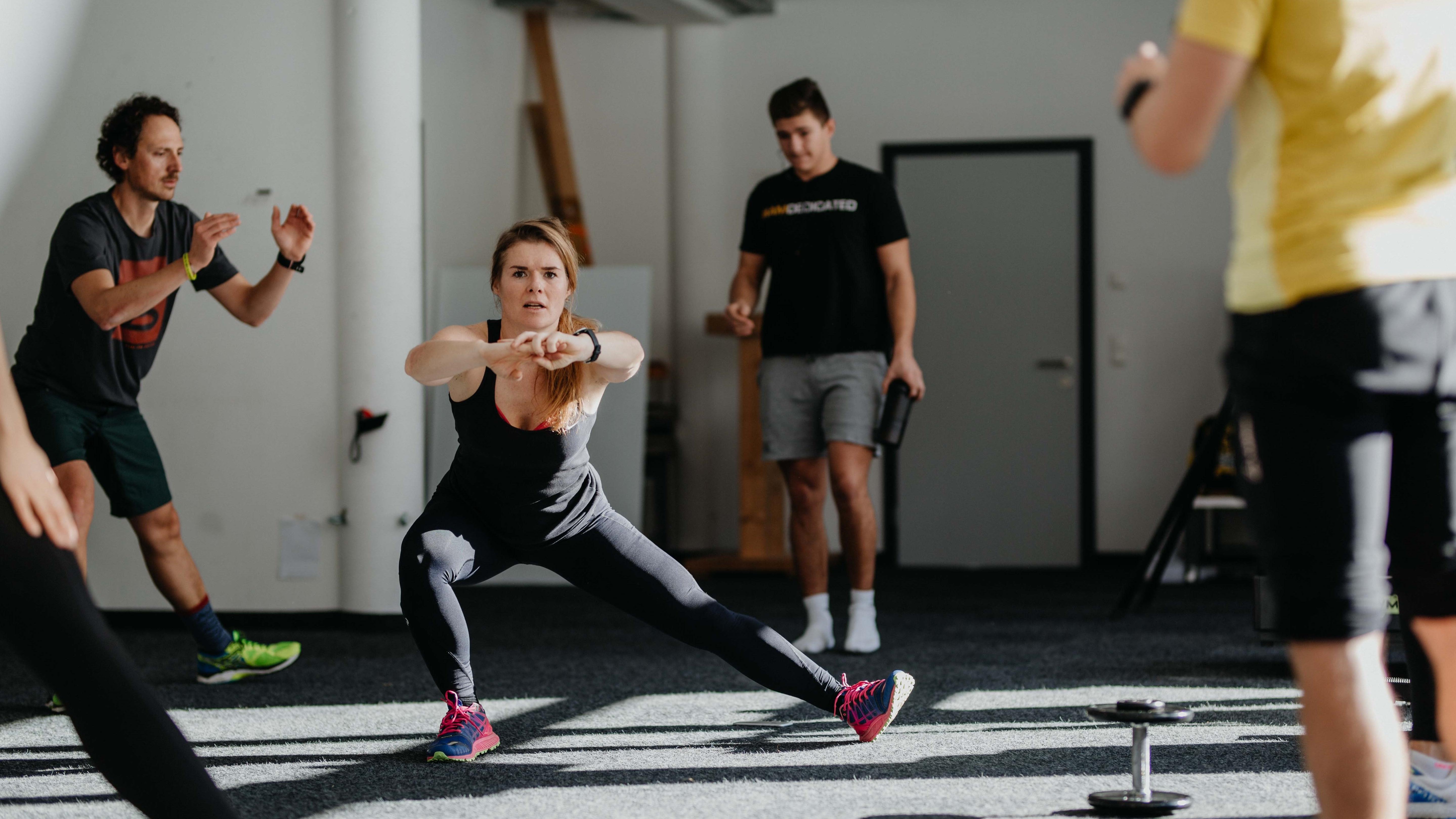 Katharina Kestler beim Training