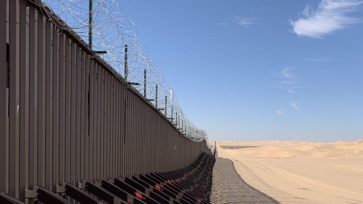 Grenze USA-Mexiko - hier baut Präsident Trump seine Mauer