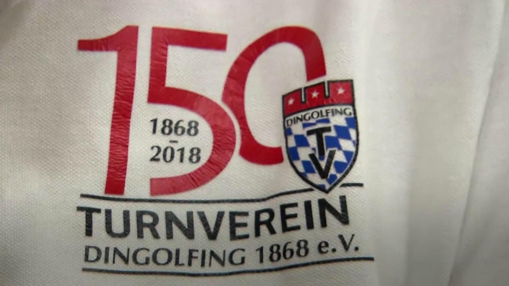 Logo 150 Jahre TV Dingolfing